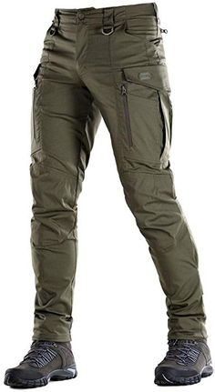 M-Tac Conquistador Flex - Tactical Pants Men - with Cargo Pockets (Olive Dark, X. Mens Tactical Pants, Tactical Wear, Tactical Clothing, Casual Outfits, Men Casual, Fashion Outfits, Herren Outfit, Mode Masculine, Mens Clothing Styles