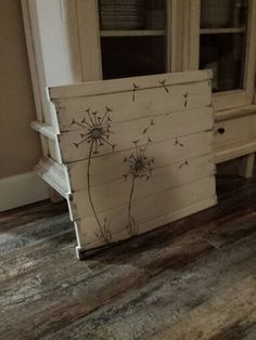 Dandelions-fly-painted-distressed