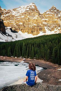 We The Wild  Wild Souls Roam Here  Adventure Shirt  Travel