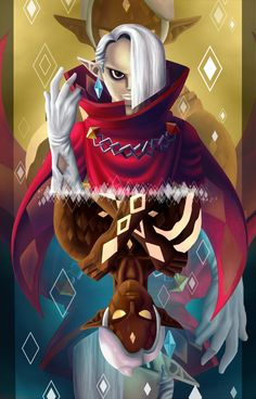 I don't know why, but I thought Ghirahim was the best thing ever. I loved his part in Skyward Sword. He's so FABULOUS.