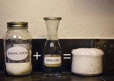 """Vinegar + baking soda ="" ..miracle cleaner? ""Not so much"", unless you consider salty water a miracle (it sustains life, so perhaps it is! ... plus water IS a great cleaning agent itself). From http://www.crunchybetty.com/diy-101-baking-soda-vinegar-not-so-much"