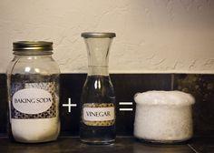 DIY 101: Baking Soda + Vinegar = Not So Much | Crunchy Betty