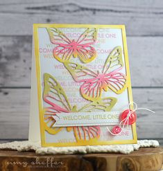 Pickled Paper Designs: Butterfly Inspirations