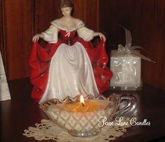 Vintage Milk jug candle by Perre Lane Candles & Soaps