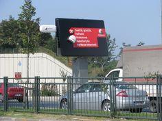 Ambient Megaboard (Vodafone Turkey)