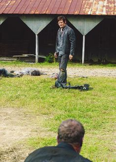 One of Walking Dead's saddest scenes :(