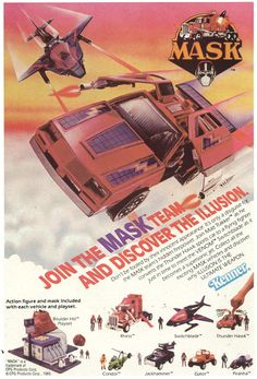 All sizes | 1986 Kenner ad for MASK toys | Flickr - Photo Sharing!
