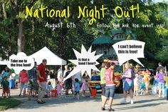 Click to learn about National Night Out!  A wonderful annual #Louisville event for families.