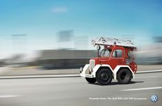 Volkswagen: Fire engine | Ads of the World™