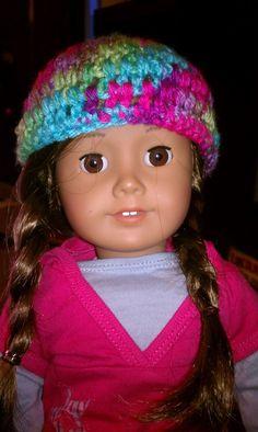 American girl doll hat