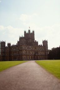 Highclere Castle...where they film Downton Abbey...I WILL go there one day!