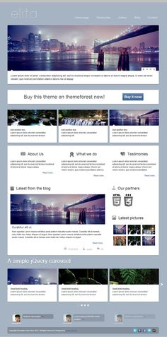 A simple HTML website template with a lot of pre-made pages. Free Html Website Templates, Html Templates, Template Web, Html Javascript, Simple Html, Layout, App Design, Packaging Design, Blog