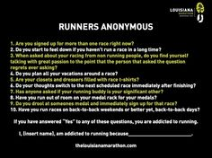 Runners Anonymous