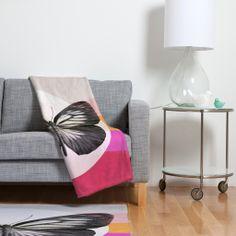 Garima Dhawan Flight 1 Fleece Throw Blanket | DENY Designs Home Accessories