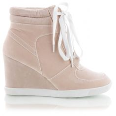 Wedge Trainers WTE5 Cream