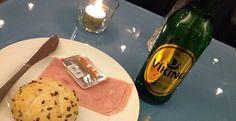 Breakfast at Keflavik airport on Iceland