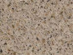 Genuine Toasted Almond Quartz from MSI is a durable beige composite with warm creams, beiges and random speckles of grays. Kitchen Quartz Counters, Kitchen Countertop Decor, Granite Countertops Colors, Kitchen Cabinet Colors, Bathroom Countertops, Kitchen Colors, Quartz Slab, Kitchen Decor Themes, Kitchen Ideas