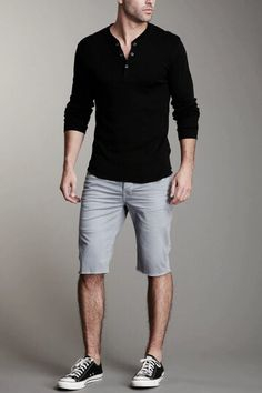 This Mens summer casual short outfits worth to copy 10 image is part from 75 Best Mens Summer Casual Shorts Outfit that You Must Try gallery and article, click read it bellow to see high resolutions quality image and another awesome image ideas. Fashion Kids, Look Fashion, Urban Fashion, Timeless Fashion, Mens Fashion, Fashion Shoot, Fashion Clothes, Fashion Spring, Fashion Menswear