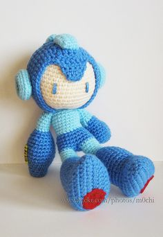 Where can I have this Crochet Mega Man?