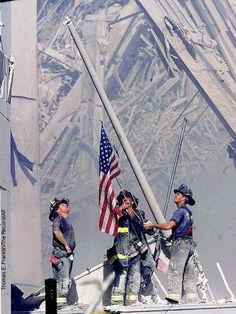 9/11/01. This photo still brings so many tears to my eyes......