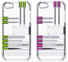 Leve um kit de ferramentas no case do seu iPhone!