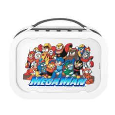 Get 1 UP on your friends with your very own fully customizable Mega Man merchandise! Click on any product and choose from various style and color options, then click on Customize to add your own images and text!