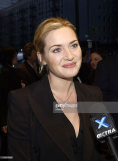 Kate Winslet during 'Enigma' New York City Premiere at Beekman Theatre in New York City, New York, United States.
