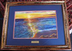 Brenda is a well known Sunshine Coast Artist & Teacher. Markings: Signed Brenda Roberton lower right. Image size: 60 x Sunshine Coast, Sunrise, Pastel, Sea, The Originals, Artist, Painting, Image, Cake