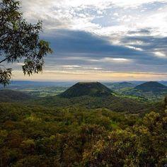 Tabletop Mountain, Toowoomba, Queensland, Australia