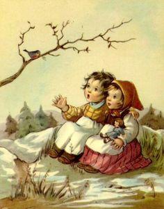 Magische Vintage Johanne L: Kinderen