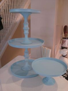 Dollar Tree stove covers and candle sticks spay painted and glued.