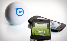 Sphero. A baseball-sized robot you remotely control with your iPhone/iPad!?! YES PLEASE!!