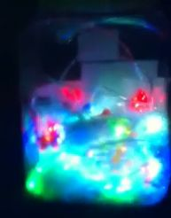 This is a really easy to make fairy lights and UV/glow in the dark lantern.  http://www.sensoryspacebristol.com/?p=446