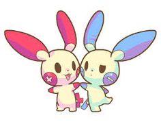 #plusle #pokemon #anime #pocketmonsters #minun