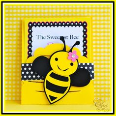 Items similar to Custom Bumble Bee Party Invitations - set of 48 on Etsy Bumble Bee Invitations, Party Invitations, Custom Invitations, Party Favors, Bumble Bee Birthday, Bee Cards, Spelling Bee, Cute Bee, Bee Happy