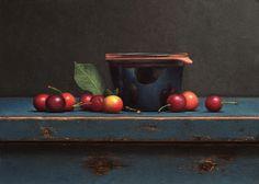 Jos Van Riswick | Cherry still life