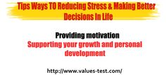 Supporting your growth and personal development Try Online Values Elicitation Test A Test Which Gives You Your Own Personal Work Career or Relationship Values Today   http://www.values-test.com/