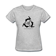 Kettyny Women's AFI Logo Design Cotton T Shirt - Brought to you by Avarsha.com