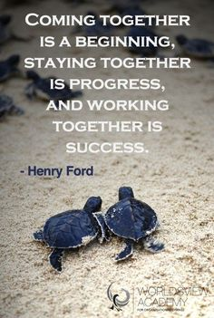 Work as a team! You become more efficient and productive when all efforts are combined @marketingmelodie