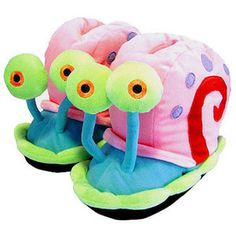 Slippers Gary the snail