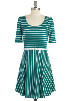 Colorful Confidence Dress in Teal, @ModCloth