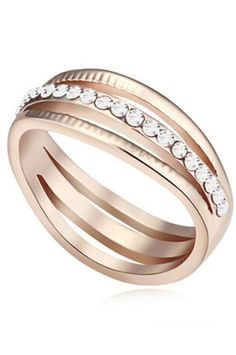 b9e174030924 The perfect ring for any woman who appreciates high-fashion and jewelry  design. Made