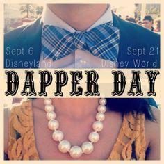 disney dapper day outfits | Dapper Day 2013