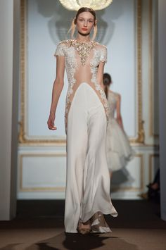 I just reacted to Dany Atrache Haute Couture Spring 2015. Check it out!