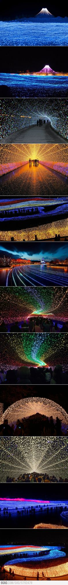 Winter Light Festival is nothing short of amazing HQ Photos) Japan's Winter Lights Festival - want to go.Japan's Winter Lights Festival - want to go. Places To Travel, Places To See, Places Around The World, Around The Worlds, Winter Light Festival, Japon Tokyo, Tokyo Skytree, Monte Fuji, Image Nature