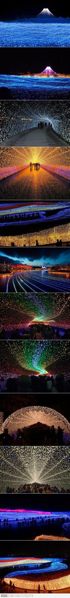 Japan's Winter Light Festival