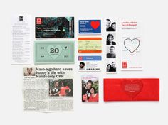 NB: British Heart Foundation Annual Review 2012 - Graphis