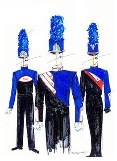 buBlue-RedContemporary Trio