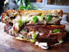 Garlic & mushroom toastie GB Chefs