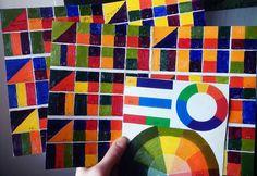 цветвой круг, живопись в подарок